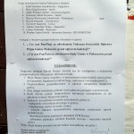 Ogłoszenie o referendum w sprawie odwołania wójta i rady gminy Piekoszów