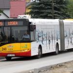 Autobus linii nr 26 w Piekoszowie