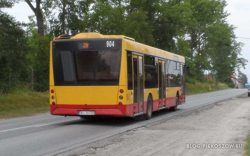 Nie płacz, kiedy odjadę... Autobus linii nr 28 jeszcze przejeżdża przez Jaworznię