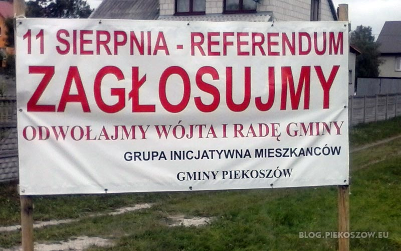 Baner w Bławatkowie