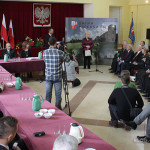 Uroczysta sesja Rady Gminy Piekoszów 3 grudnia 2013 - zaprzysiężenie wójta Zbigniewa Piątka
