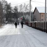 Tak wygląda wczoraj jedna z gminnych dróg w gminie Piekoszów