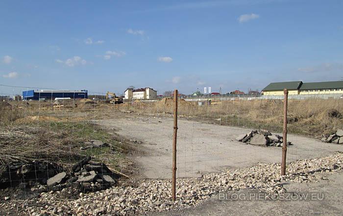 Budowa Świętokrzyskiego Centrum Logistyki i Dystrybucji Alma-Alpinex - marzec 2014